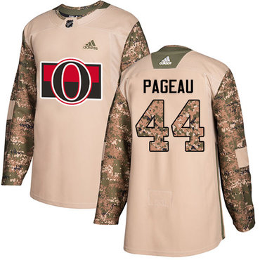 Adidas Senators #44 Jean-Gabriel Pageau Camo Authentic 2017 Veterans Day Stitched NHL Jersey
