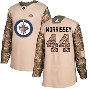 e7c8b612 didas Jets #44 Josh Morrissey Camo Authentic 2017 Veterans Day Stitched NHL  Jersey