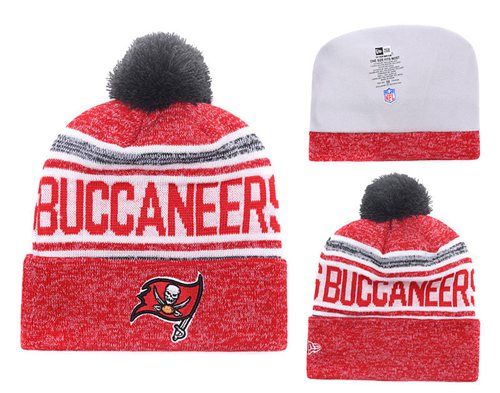 NFL Tampa Bay Buccaneers Logo Stitched Knit Beanies 011