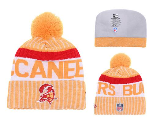 NFL Tampa Bay Buccaneers Logo Stitched Knit Beanies 006