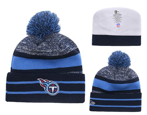 NFL Tennessee Titans Logo Stitched Knit Beanies 010
