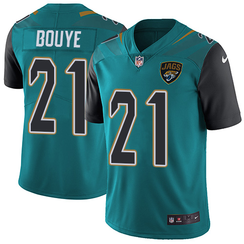 Nike Jaguars #21 A.J. Bouye Teal Green Team Color Men\'s Stitched NFL Vapor Untouchable Limited Jersey