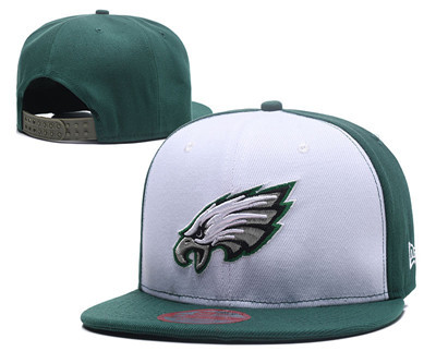 NFL Philadelphia Eagles Fresh Logo White Adjustable Hat