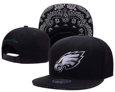 NFL Philadelphia Eagles Fresh Logo White Adjustable Hat 12