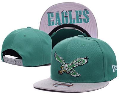 NFL Philadelphia Eagles Fresh Logo Green Adjustable Hat