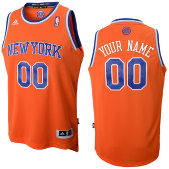 adidas New York Knicks Custom Replica Alternate Jersey