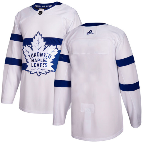 Adidas Toronto Maple Leafs Blank White Authentic 2018 Stadium Series Stitched NHL Jersey