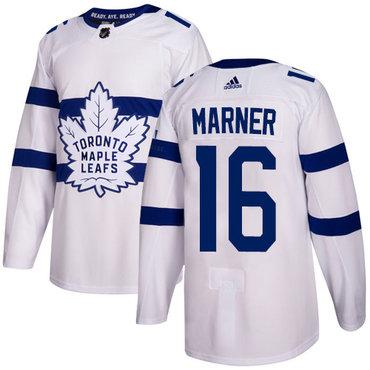 Adidas Toronto Maple Leafs #16 Mitchell Marner White Authentic 2018 Stadium Series Stitched NHL Jersey