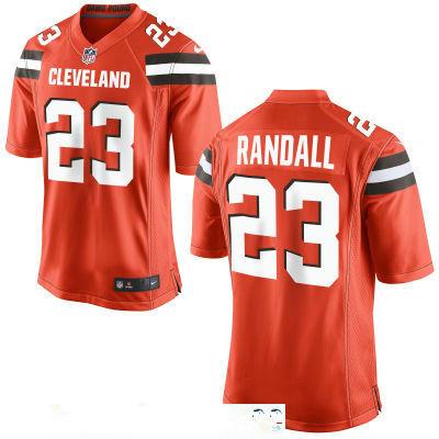 Men's Cleveland Browns #23 Damarious Randall Orange Alternate Stitched NFL Nike Game Jersey