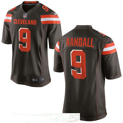 Men s Cleveland Browns  9 Drew Stanton Brown Team Color Stitched NFL Nike  Game Jersey d556c5791