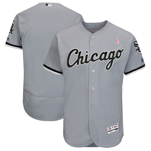 Chicago Cubs Blank Gray 2018 Mother's Day Flexbase Jersey