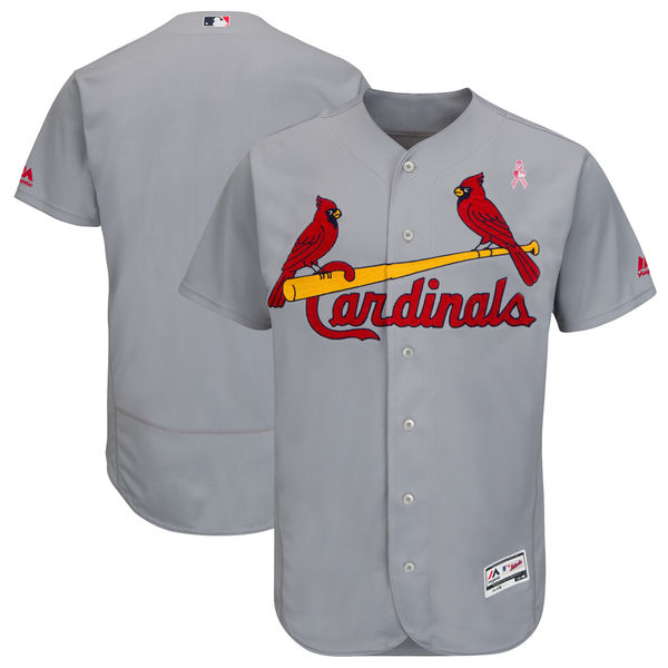 St. Louis Cardinals Gray 2018 Mother's Day Flexbase Jersey