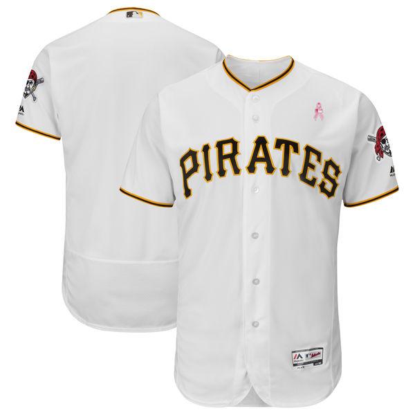pittsburgh pirates blank white 2018 mothers day flexbase jersey