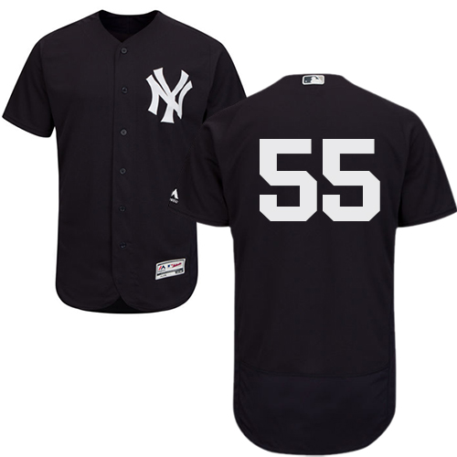 New York Yankees #55 Sonny Gray Navy Blue Flexbase Authentic Collection Stitched MLB Jersey