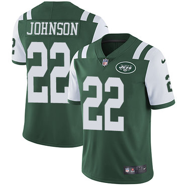 Nike New York Jets #22 Trumaine Johnson Green Team Color Men's Stitched NFL Vapor Untouchable Limited Jersey