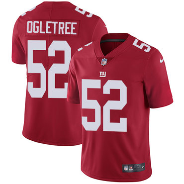 Nike New York Giants #52 Alec Ogletree Red Alternate Men's Stitched NFL  Vapor Untouchable Limited