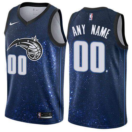 40e939f4516 Men's Nike Orlando Magic Customized Authentic Blue NBA City Edition Jersey