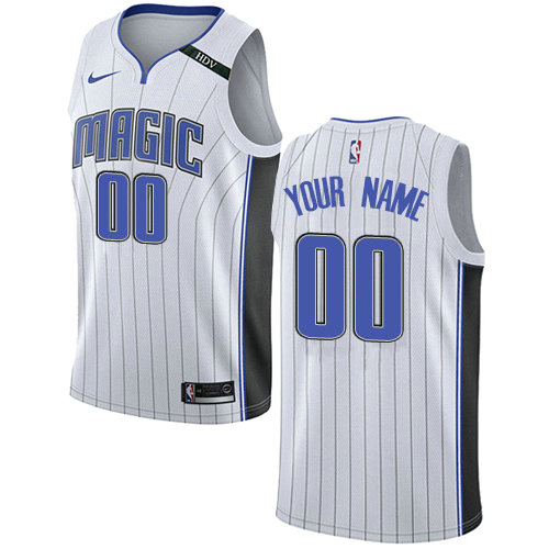 262372e786f Men's Nike Orlando Magic Customized Authentic White NBA Association Edition  Jersey