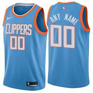 Nike Clippers Blue NBA Swingman City Edition Custom Jersey