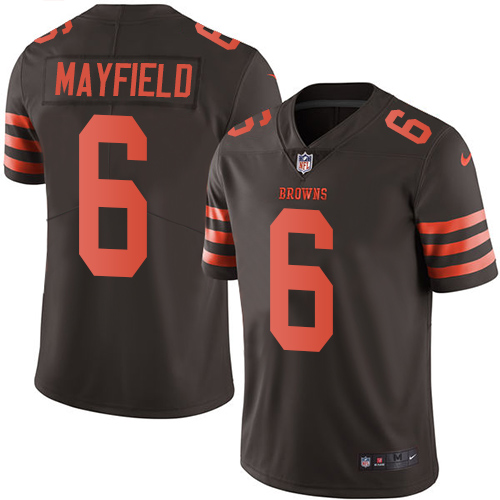 baker mayfield jersey stitched