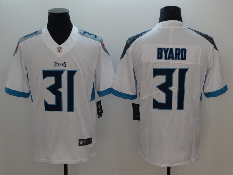 53ba5cda2 Nike Titans #31 Kevin Byard White Youth New Vapor Untouchable Player  Limited Jersey