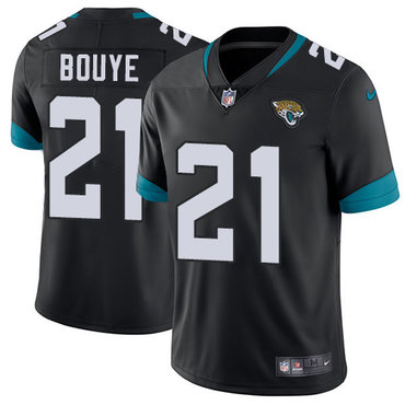 Nike Jacksonville Jaguars #21 A.J. Bouye Black Alternate Men's Stitched NFL Vapor Untouchable Limited Jersey