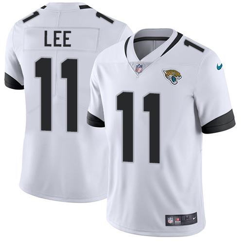 Nike Jacksonville Jaguars #11 Marqise Lee White Men's Stitched NFL Vapor Untouchable Limited Jersey