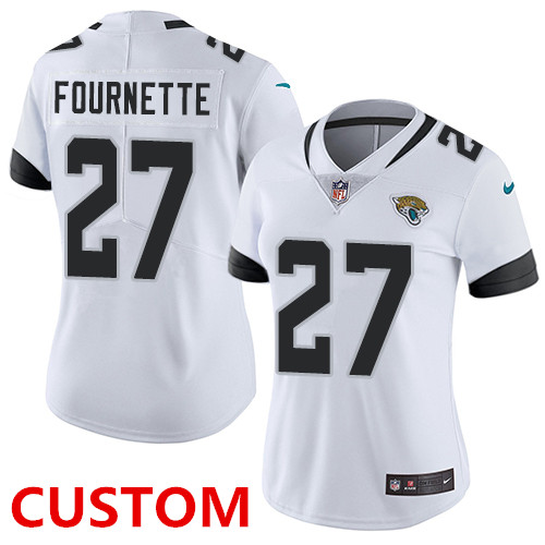 Nike Jacksonville Jaguars White Women's Stitched NFL Vapor Untouchable Limited Jersey