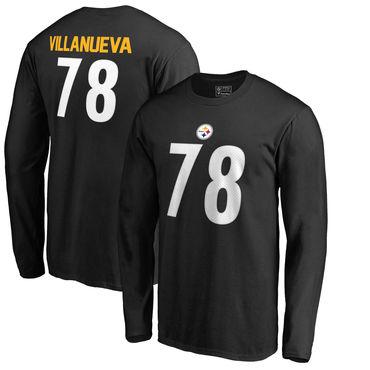 online retailer eac9e 61480 Men's Pittsburgh Steelers 78 Alejandro Villanueva NFL Pro ...