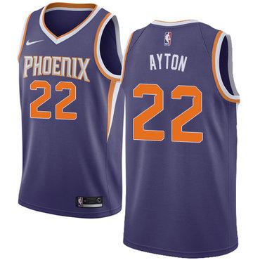 a493ec272c8 Nike Phoenix Suns #22 Deandre Ayton Purple NBA Swingman Icon Edition Jersey
