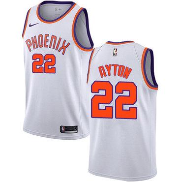 e60582c91ad Nike Phoenix Suns #22 Deandre Ayton White NBA Swingman Association Edition  Jersey