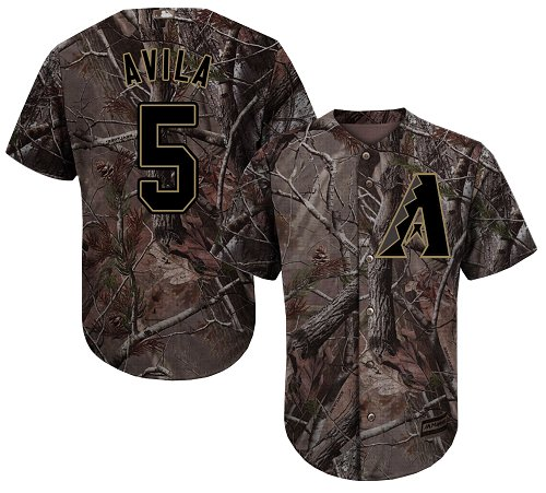 Arizona Diamondbacks #5 Alex Avila Camo Realtree Collection Cool Base Stitched MLB Jersey