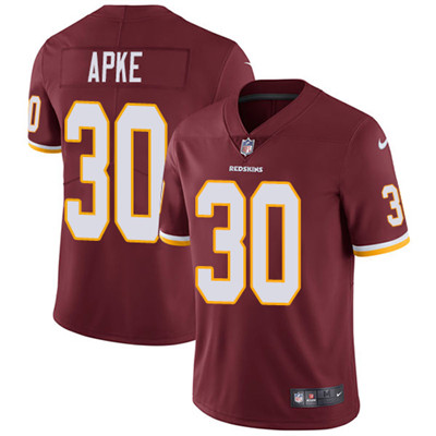 Nike Washington Redskins #30 Troy Apke Burgundy Red Team Color Men's Stitched NFL Vapor Untouchable Limited Jersey