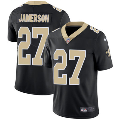 Nike New Orleans Saints #27 Natrell Jamerson Black Team Color Men's Stitched NFL Vapor Untouchable Limited Jersey