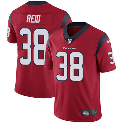 Nike Houston Texans #38 Justin Reid Red Alternate Men's Stitched NFL Vapor Untouchable Limited Jersey