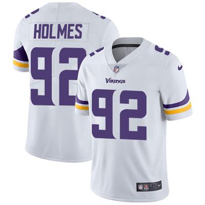 Nike Minnesota Vikings #92 Jalyn Holmes White Men's Stitched NFL Vapor Untouchable Limited Jersey