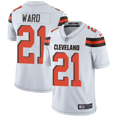 Nike Cleveland Browns #21 Denzel Ward White Men's Stitched NFL Vapor Untouchable Limited Jersey