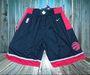 Toronto Raptors Black Nike Swingman Shorts