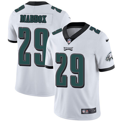 Nike Philadelphia Eagles #29 Avonte Maddox White Men's Stitched NFL Vapor Untouchable Limited Jersey