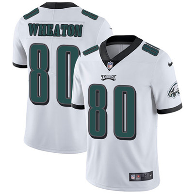 Nike Philadelphia Eagles #80 Markus Wheaton White Men's Stitched NFL Vapor Untouchable Limited Jersey