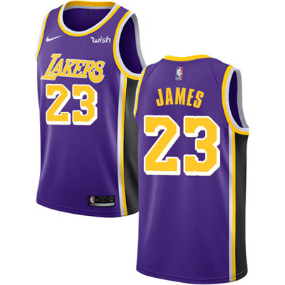 b4b36910f286 Nike Los Angeles Lakers  23 LeBron James Purple NBA Swingman Statement  Edition Jersey