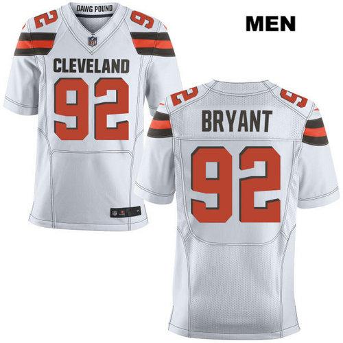 Nike Cleveland Browns #92 Desmond Bryant White Stitched NFL Elite Jersey
