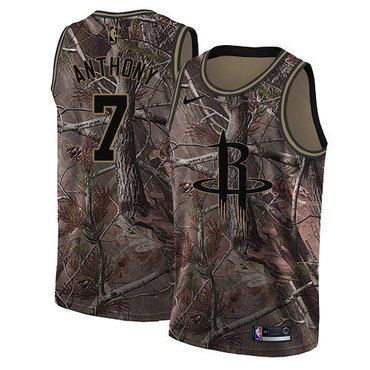 Nike Houston Rockets #7 Carmelo Anthony Camo NBA Swingman Realtree Collection Jersey