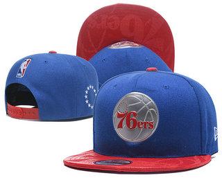 Philadelphia 76ers Snapback Ajustable Cap Hat YD 3