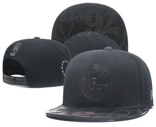 Philadelphia 76ers Snapback Ajustable Cap Hat YD 2