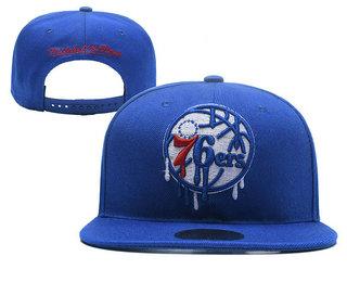 Philadelphia 76ers Snapback Ajustable Cap Hat YD 5