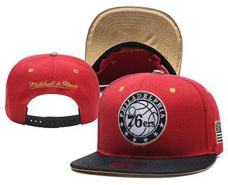 Philadelphia 76ers Snapback Ajustable Cap Hat YD 6