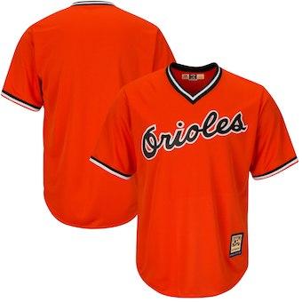 e4cf11814bc Men s Baltimore Orioles Majestic Blank Orange Alternate Big   Tall  Cooperstown Cool Base Team Jersey