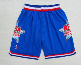 1992 All-Star Blue Hardwood Classics Swingman Shorts