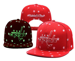 Washington Capitals Snapback Ajustable Cap Hat YD 2